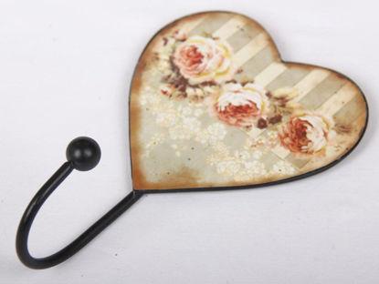 Afbeeldingen van Ophanghaak hart/bloem