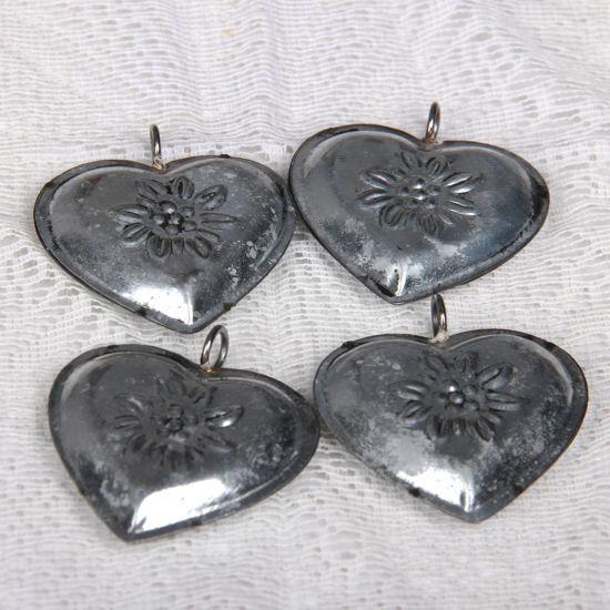 Afbeelding van Metalen hartjes