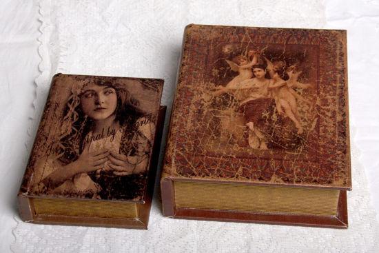 Afbeelding van Opbergdoosje in vorm van een boek