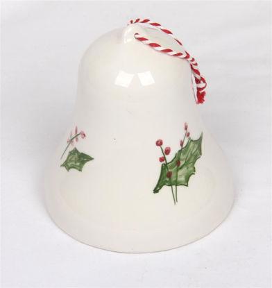 Afbeeldingen van Porseleinen kerst klokje
