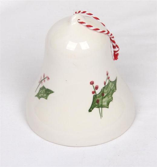 Afbeelding van Porseleinen kerst klokje