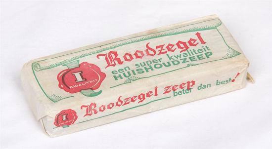 Afbeelding van Dubbelstuk oude huishoudzeep