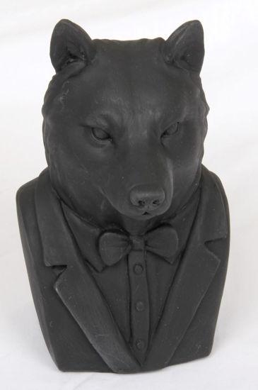 Afbeelding van Houten beeld vos