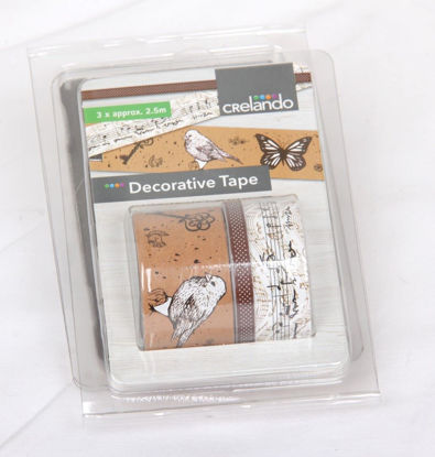 Afbeeldingen van Pakketje siertape