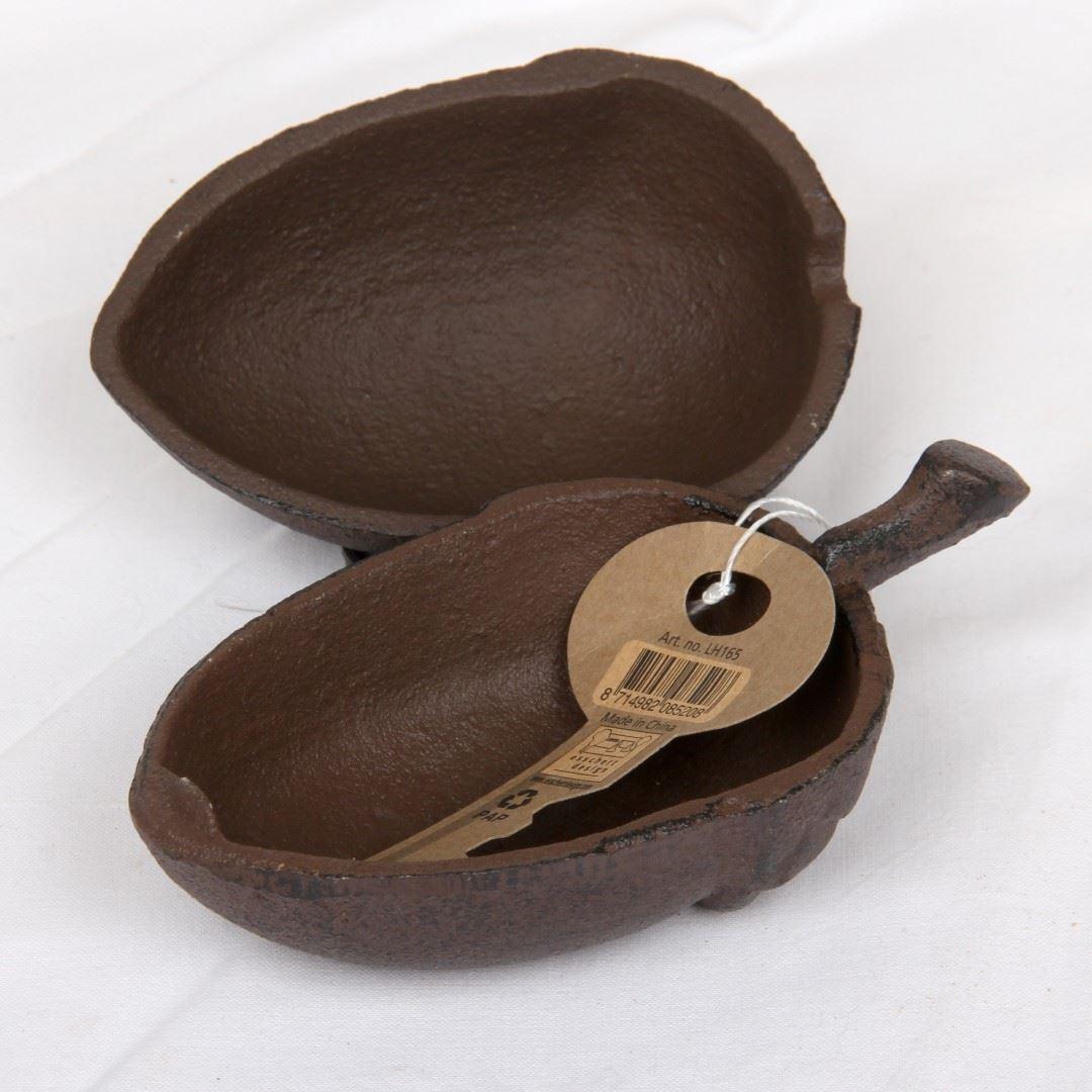 Afbeelding van Gietijzeren sleutel bewaardoosje