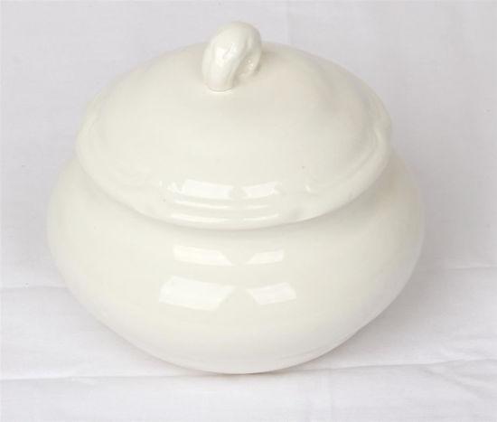 Afbeelding van Wit suikerpotje