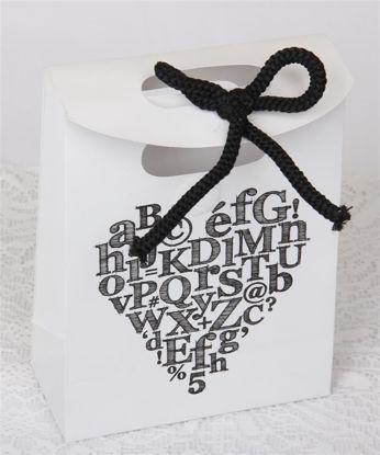 Afbeeldingen van Cadeau tasje wit