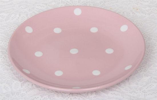 Afbeelding van Roze gebaks bordjes