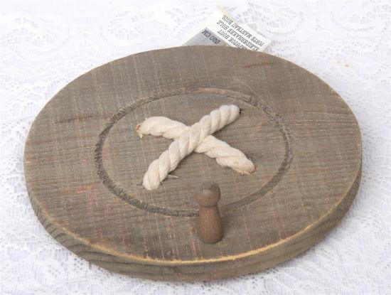 Afbeelding van Ronde knoop ophanghaak