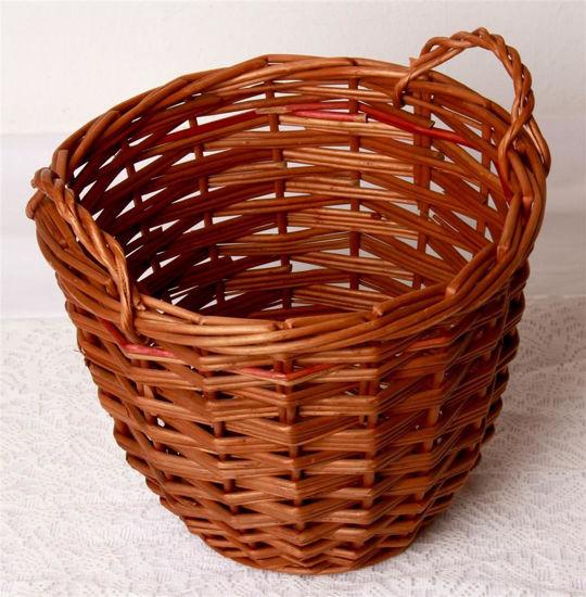 Afbeelding van Ouderwets stofdoeken mandje