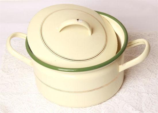 Afbeelding van Ouderwetse pan beige