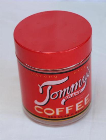 Afbeelding van Glazen koffie bewaarpot