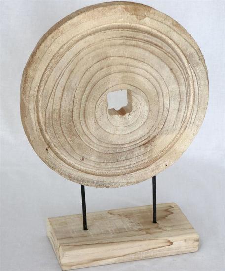 Afbeelding van Decoratief hout op voet