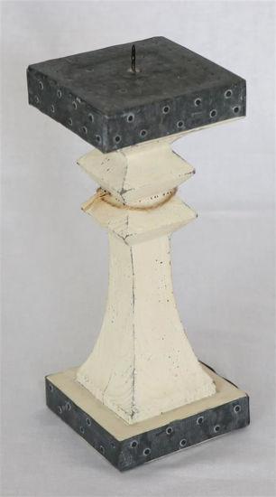 Afbeelding van Houten kandelaar