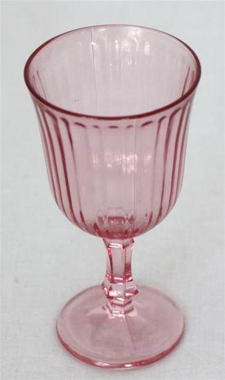 Afbeelding van Rose wijnglas