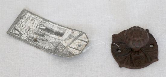 Afbeelding van Gietijzeren deurknop