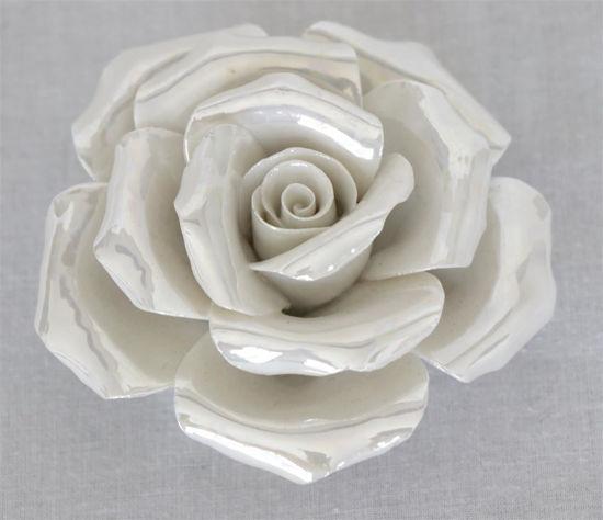 Afbeelding van Parelmoer roos
