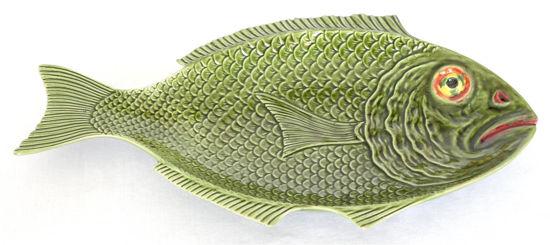 Afbeelding van Grote groene visschaal