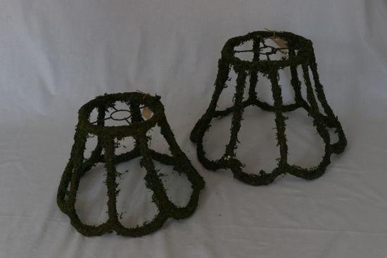 Afbeelding van Buiten lampenkap groen
