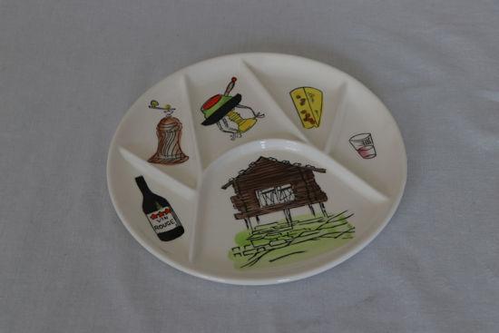 Afbeelding van Kaasfondue borden