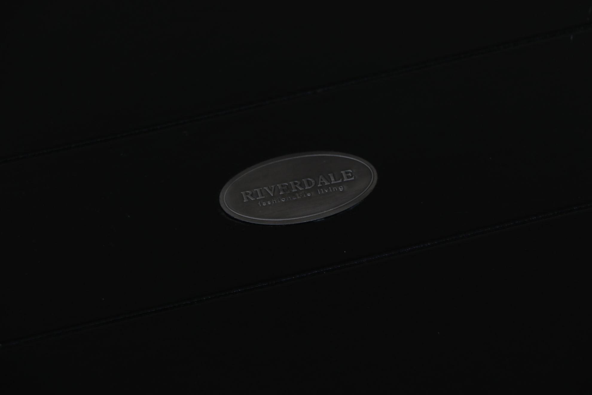 Afbeelding van Riverdale dienblad zwart