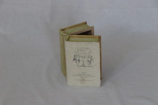 Afbeelding van Dubbelboek kistje