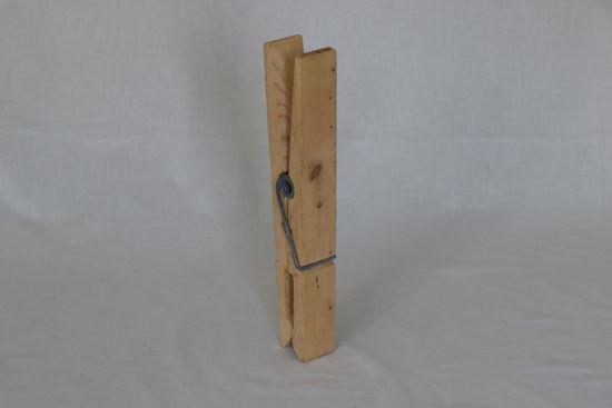 Afbeelding van Grote houten knijper