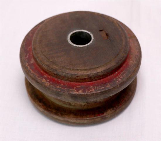 Afbeelding van Lage ronde kandelaar v hout